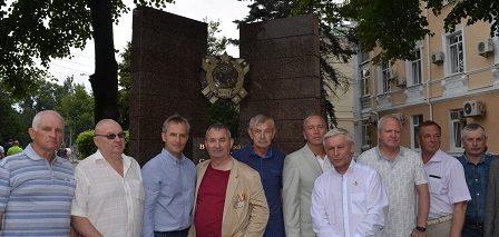 Открытие памятника Симферопольскому ВВПСУ – 50 лет!
