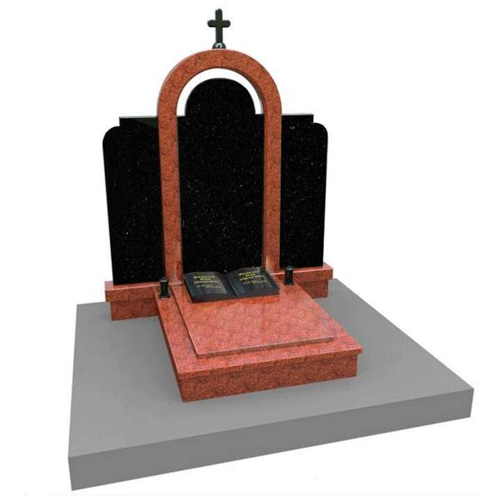 Памятники с крестом на могилу фото